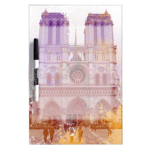 Notre Dame de Paris Pizarra