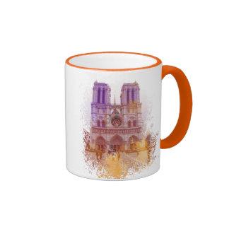 Notre Dame de Paris Ringer Mug
