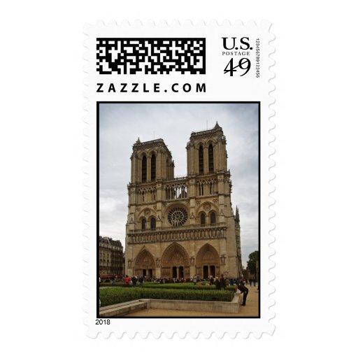 Notre Dame de Paris Stamps