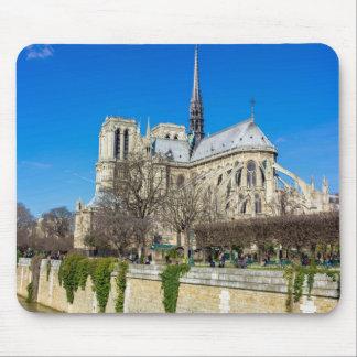 Notre Dame De Paris - Sunny Day Mouse Pad