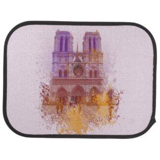 Notre Dame de Paris Car Mat