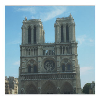 Notre Dame Decor Set Poster