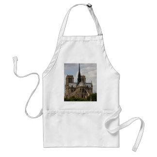 Notre Dame Delantal