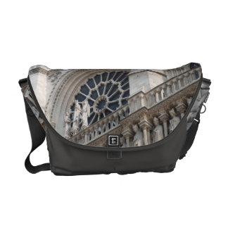 Notre Dame detail Messenger Bag