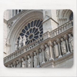 Notre Dame detail Mouse Pad