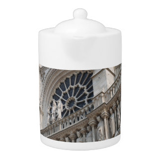 Notre Dame detail Teapot