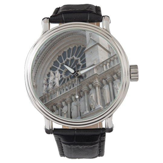 Notre Dame detail Wrist Watch