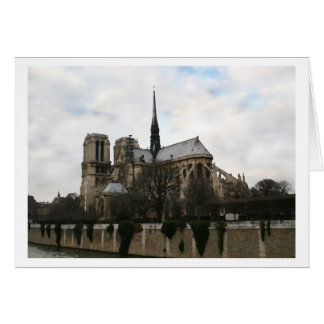 Notre Dame, Dry Brush Card