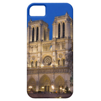 Notre Dame during Twilight iPhone 5 Case
