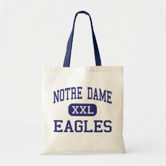 Notre Dame - Eagles - altos - Trenton New Jersey Bolsa Tela Barata