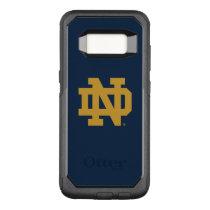 Notre Dame   Emblem Logo OtterBox Commuter Samsung Galaxy S8 Case