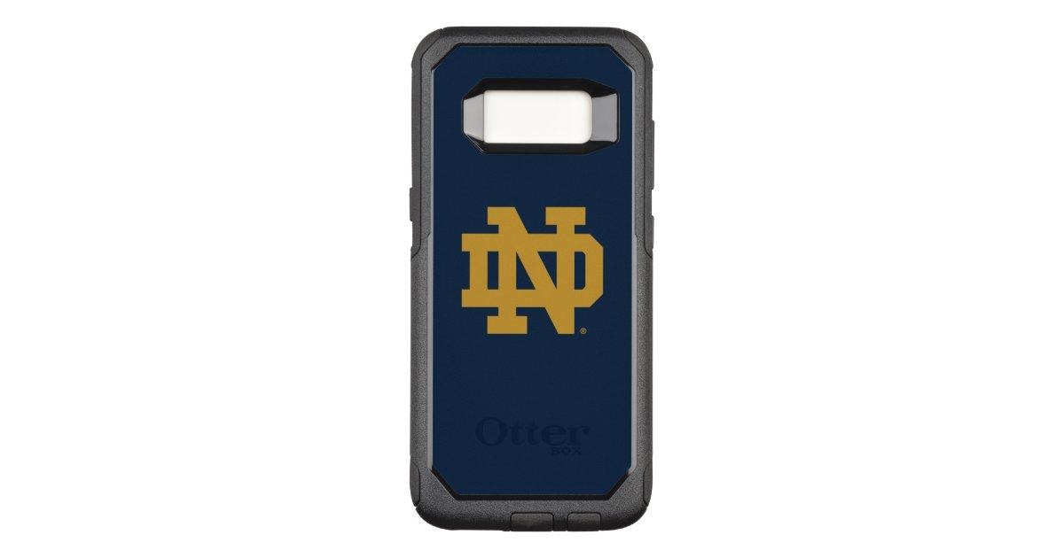 quality design 639dd 146ae Notre Dame | Emblem Logo OtterBox Commuter Samsung Galaxy S8 Case |  Zazzle.com