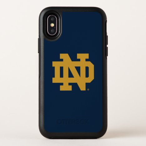 Notre Dame | Emblem Logo OtterBox Symmetry iPhone X Case