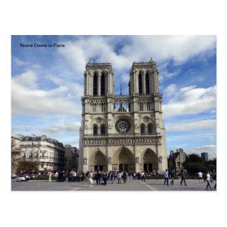 Notre Dame en París Tarjetas Postales