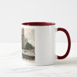 Notre Dame et le Pont, Paris, France Vintage Mug