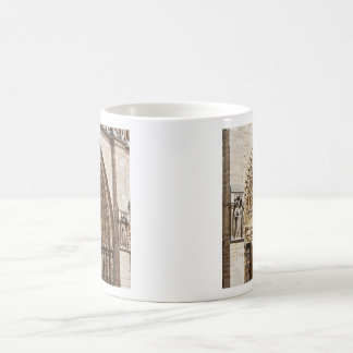Notre Dame Facade Coffee Mug