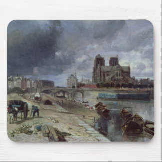 Notre-Dame from the Quai de la Tournelle, 1852 Mouse Pad