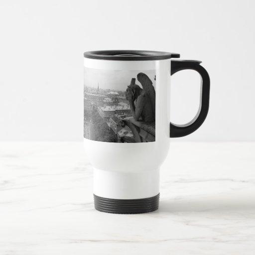 Notre Dame Gargoyle 2 Coffee Mug
