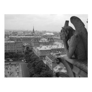 Notre Dame Gargoyle 2 Post Cards