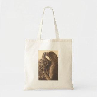 Notre Dame Gargoyle Budget Tote Bag