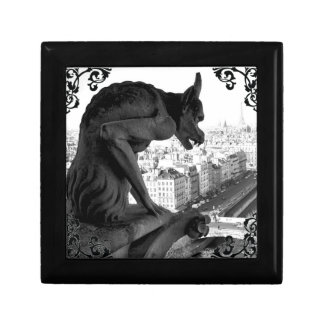 Notre Dame Gargoyle Gothic Victorian Giftbox Jewelry Box