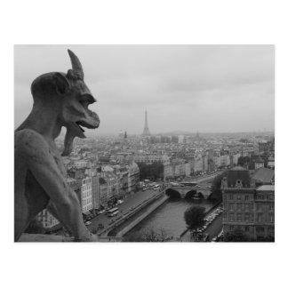 Notre Dame Gargoyle Post Cards