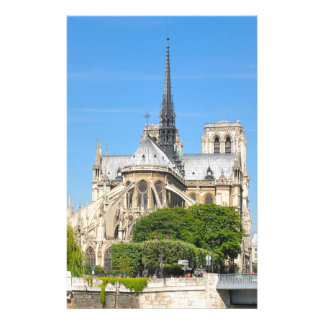 Notre Dame in Paris Stationery