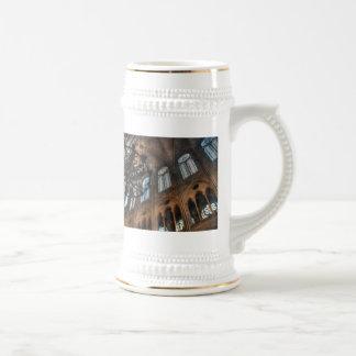Notre Dame interior Beer Stein