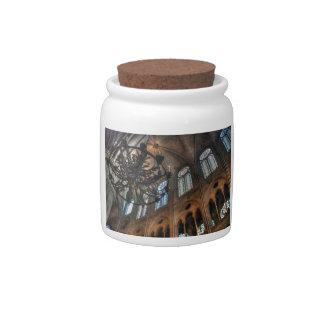 Notre Dame interior Candy Jars