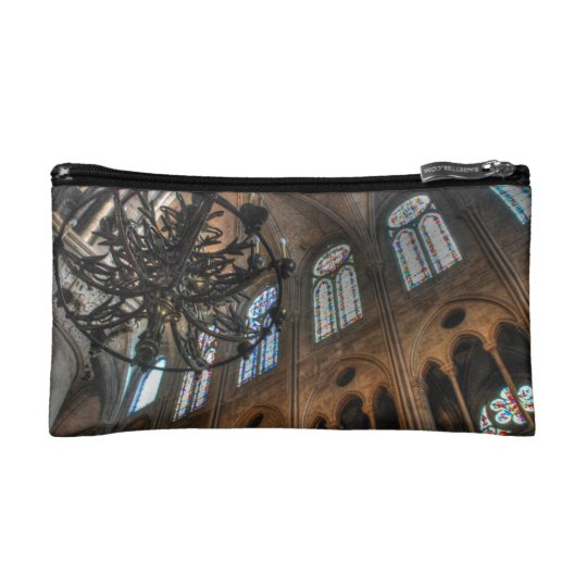 Notre Dame interior Cosmetic Bag
