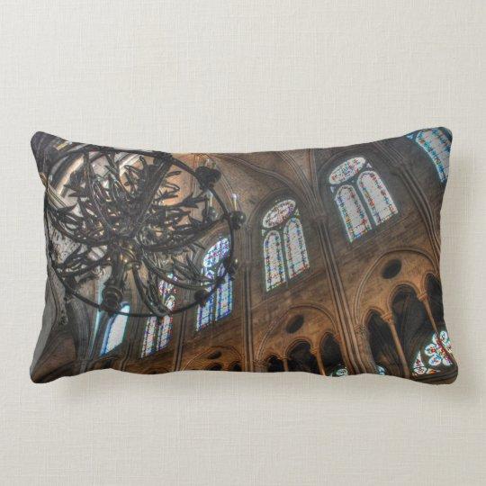 Notre Dame interior Lumbar Pillow