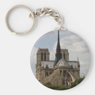 Notre Dame Keychain