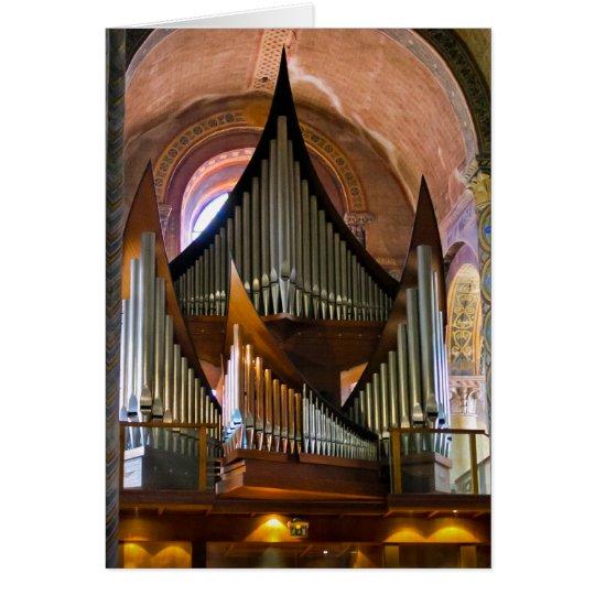 Notre-Dame La Grande in Poitiers Card