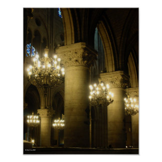 Notre Dame Light The Way Print