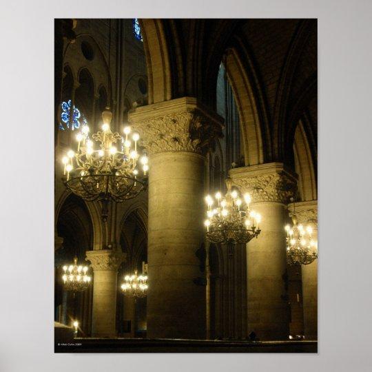 Notre Dame Light The Way Print