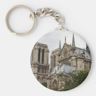 Notre Dame Llavero Redondo Tipo Pin