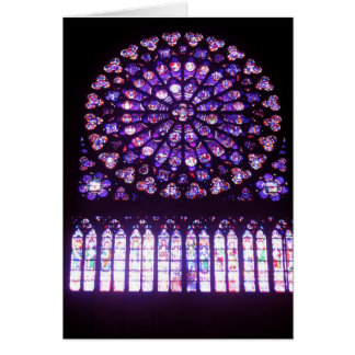 Notre-Dame, North Rose Cards