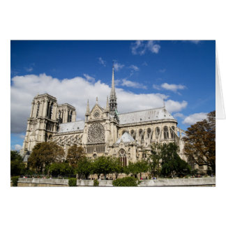 Notre Dame Note Card