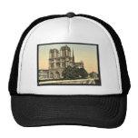 Notre Dame, obra clásica Photochrom de París, Fran Gorras De Camionero