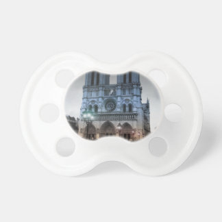 Notre Dame Baby Pacifier
