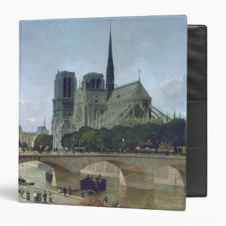 Notre Dame, Paris, 1884 3 Ring Binder