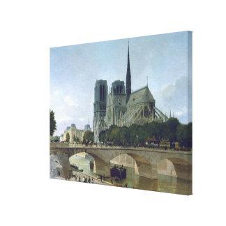 Notre Dame, Paris, 1884 Canvas Print