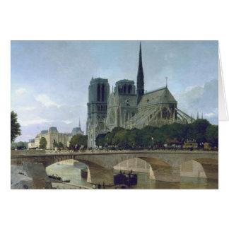 Notre Dame, Paris, 1884 Card