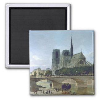 Notre Dame, París, 1884 Imán Para Frigorifico