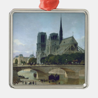 Notre Dame, Paris, 1884 Metal Ornament