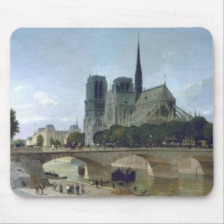 Notre Dame, Paris, 1884 Mouse Pad