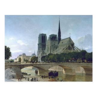 Notre Dame, Paris, 1884 Postcard