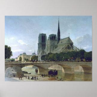 Notre Dame, Paris, 1884 Poster