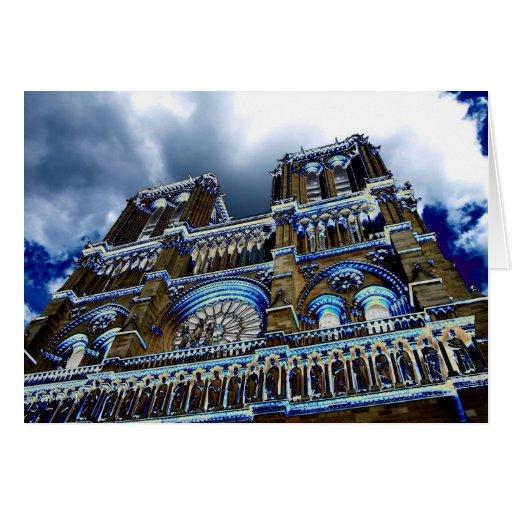 Notre Dame, París 2 Tarjeta De Felicitación