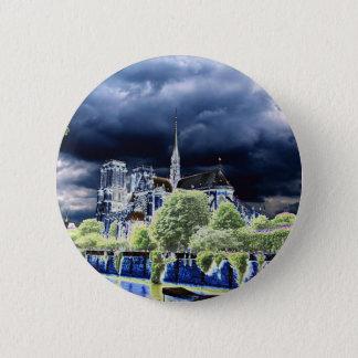 Notre Dame, Paris 4 Button